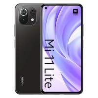 Smartphone Xiaomi Mi 11 Lite Dual SIM 6GB/128GB Boba Black (Desbloqueado)