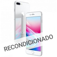 Apple iPhone 8 Plus 256GB Silver (Recondicionado Grade A)