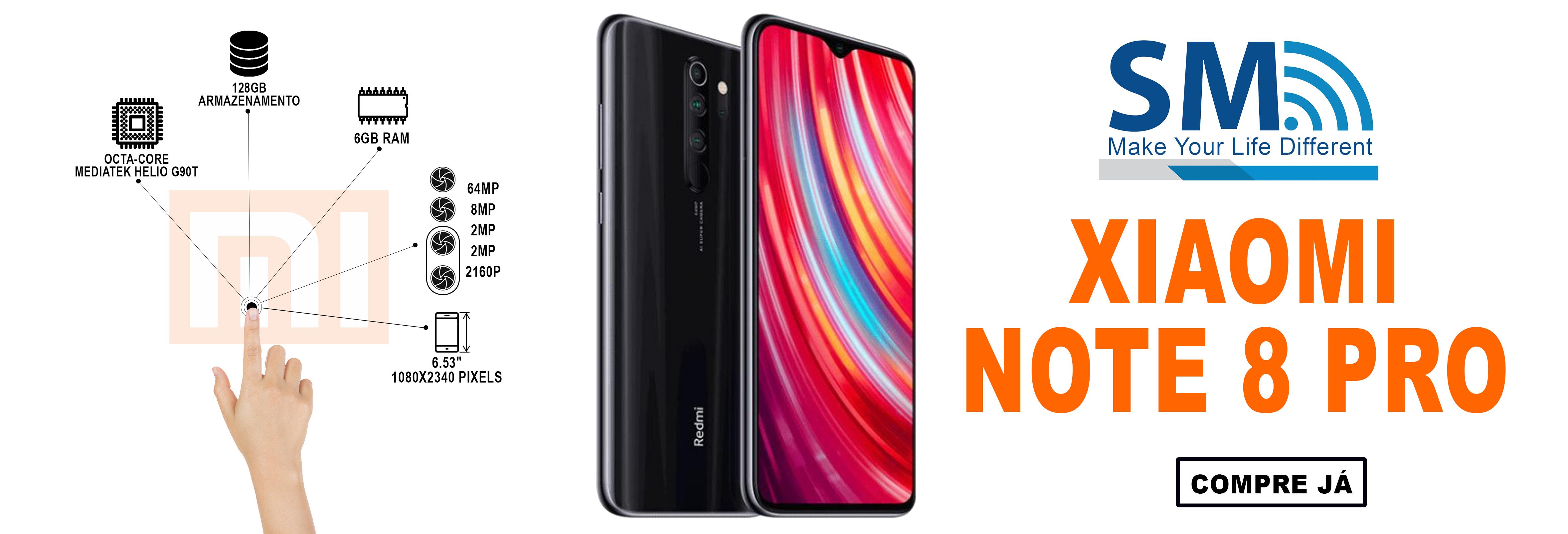 Xiaomi Redmi Note 8 Pro Dual SIM 6GB/64GB Black
