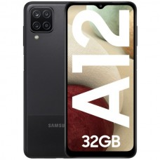 Samsung Galaxy A12 Dual SIM 3GB/32GB Black (Desbloqueado)