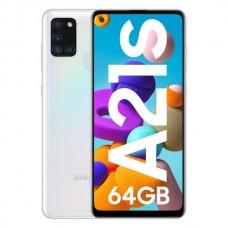 Smartphone Samsung Galaxy A21S Dual SIM 4GB/64GB White (Desbloqueado)