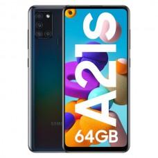 Smartphone Samsung Galaxy A21S Dual SIM 4GB/64GB Black (Desbloqueado)